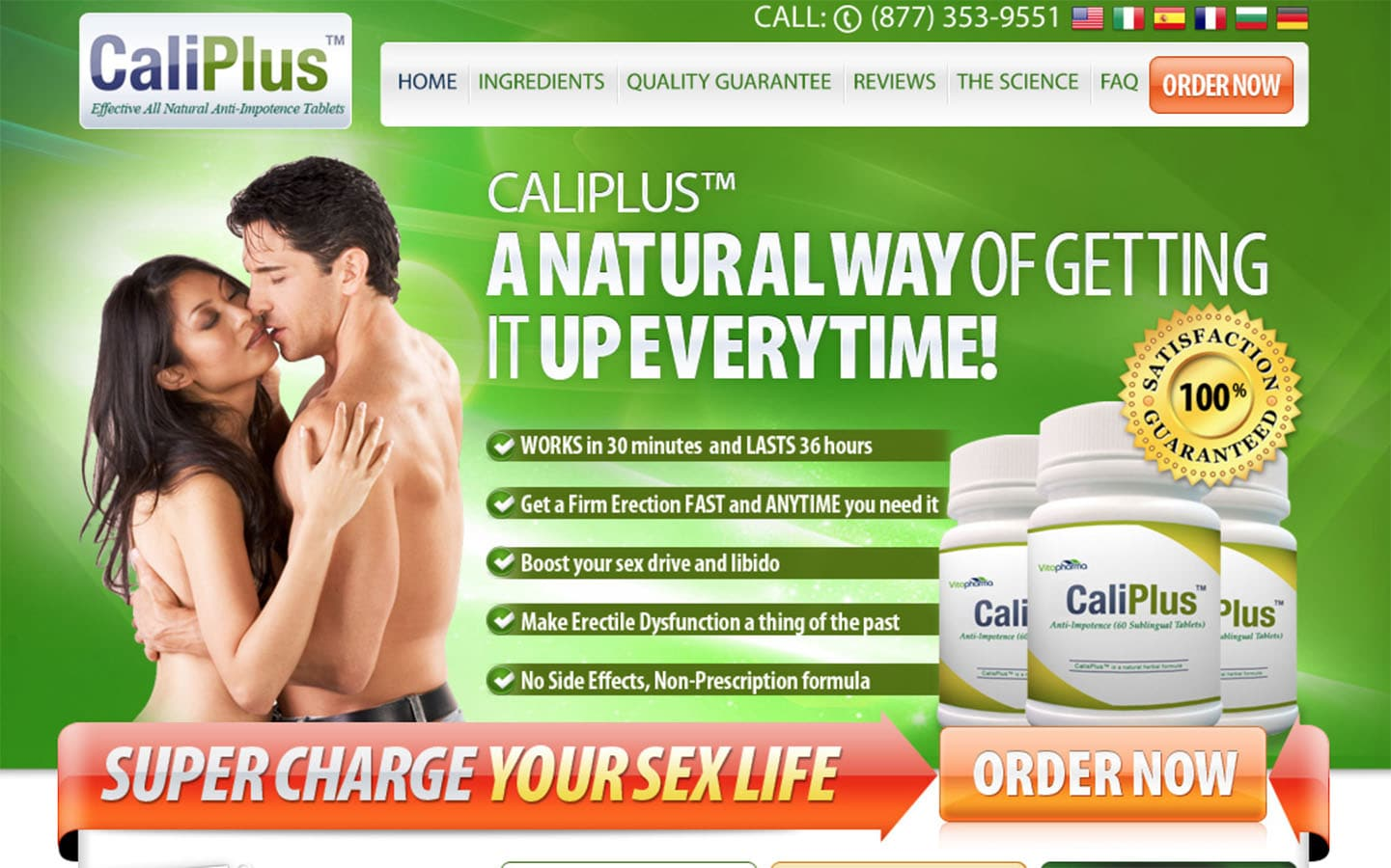 caliplus uk website