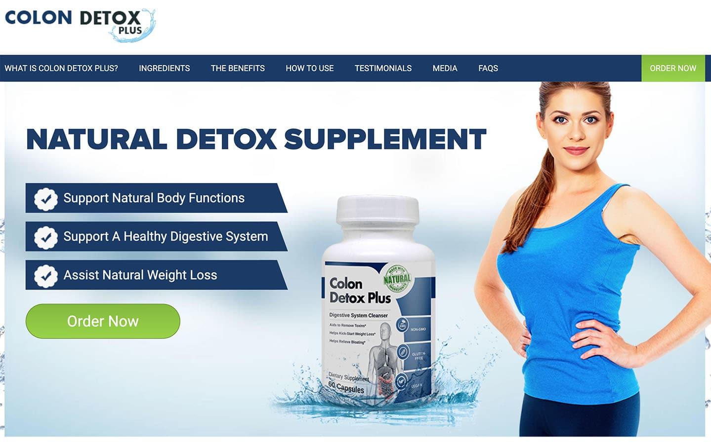 colon detox plus website