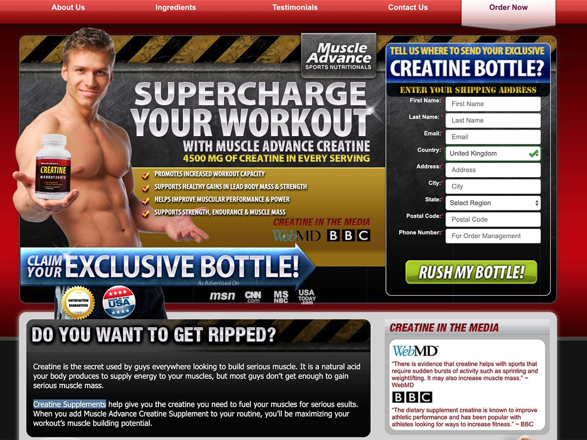 Creatine Muscle Builder UK, Ireland
