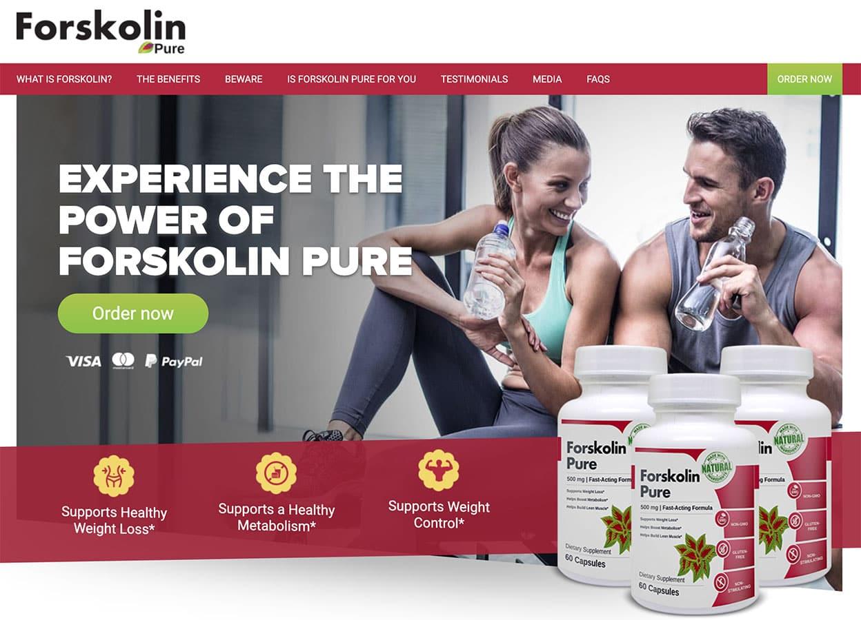 Forskolin Pure UK Website