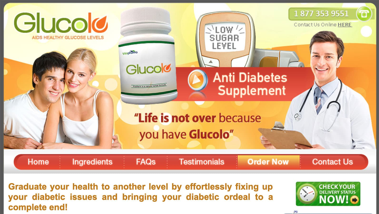 Glucolo UK Website