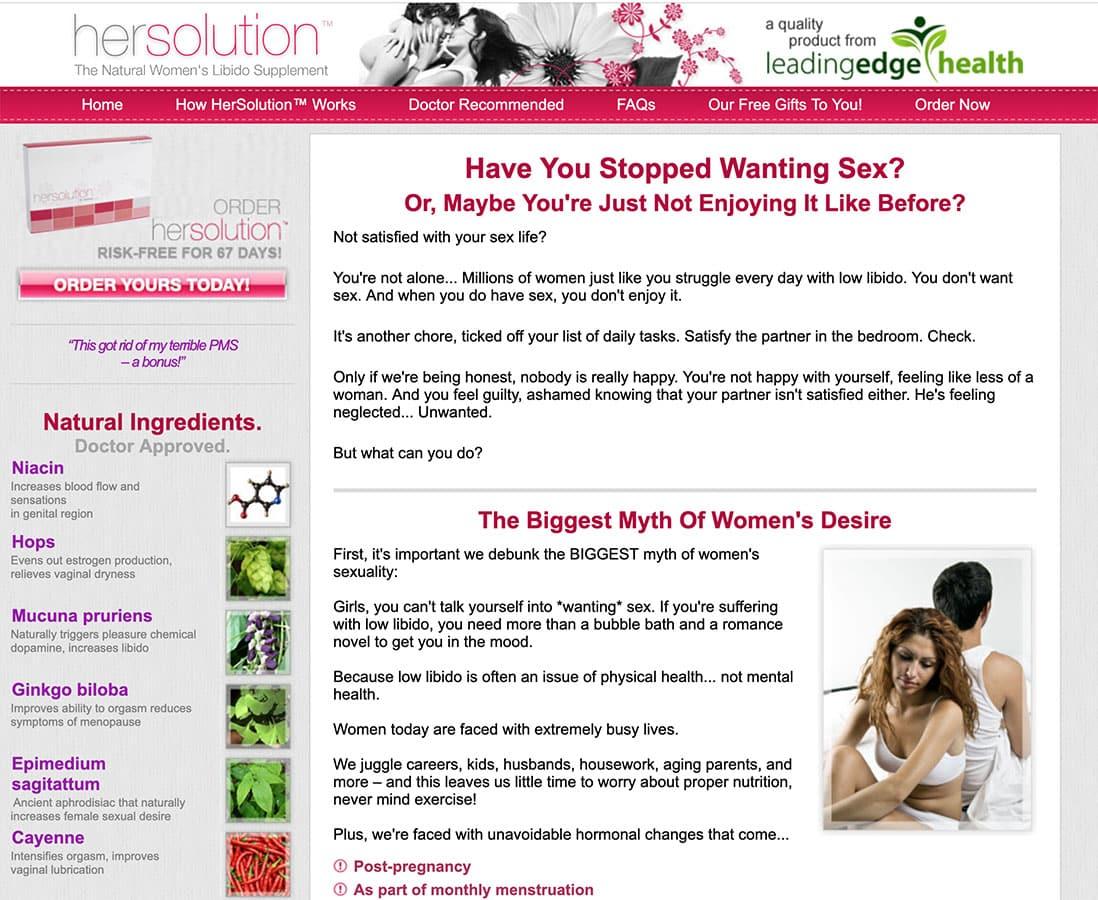 hersolution uk website