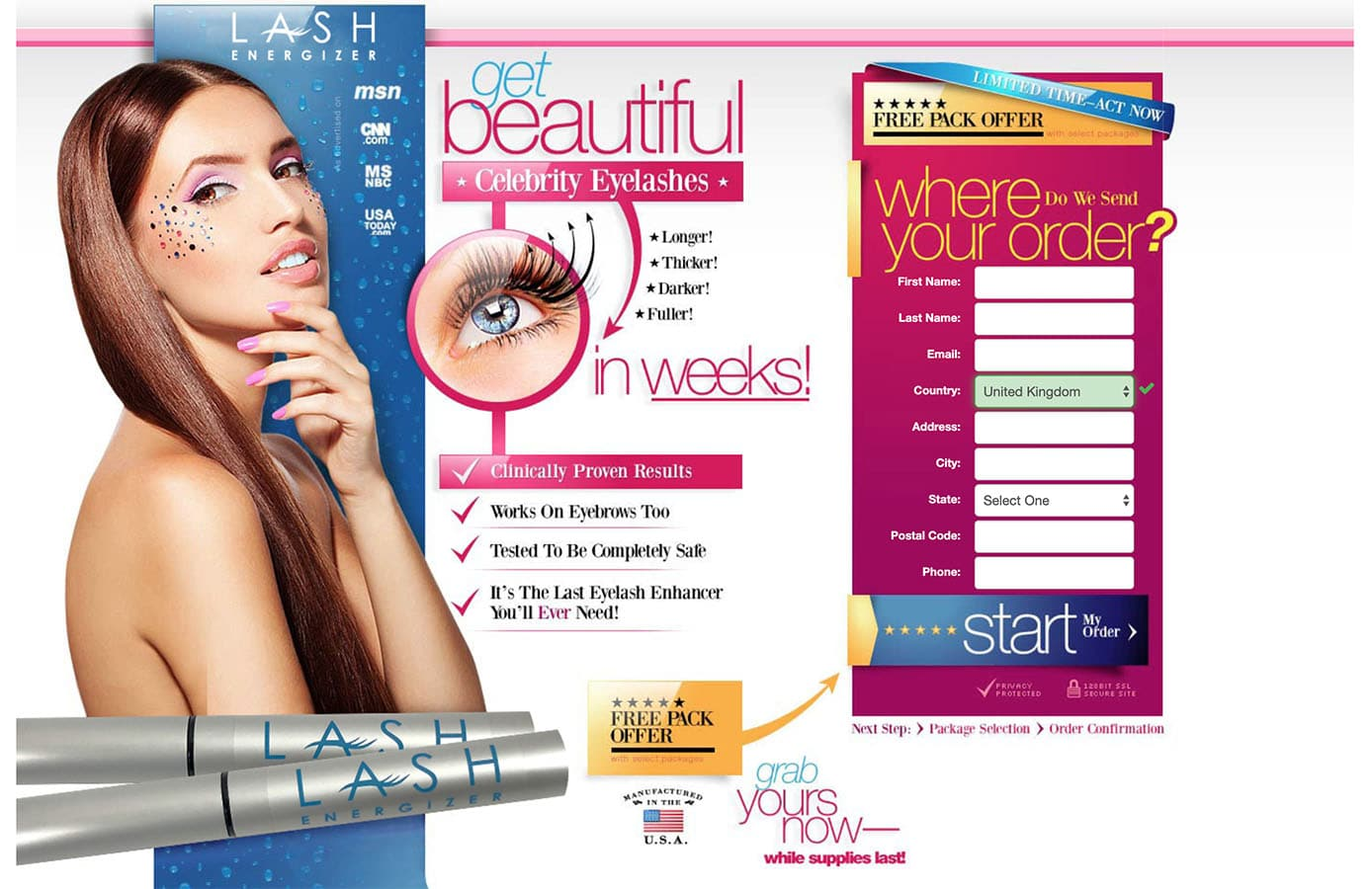 lash energizer uk website