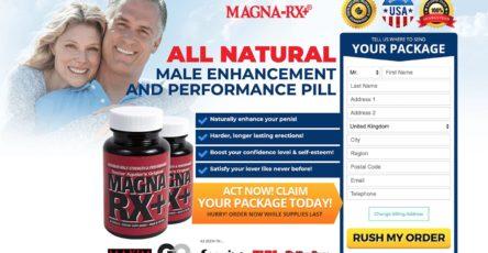 MagnaRX+ UK Website