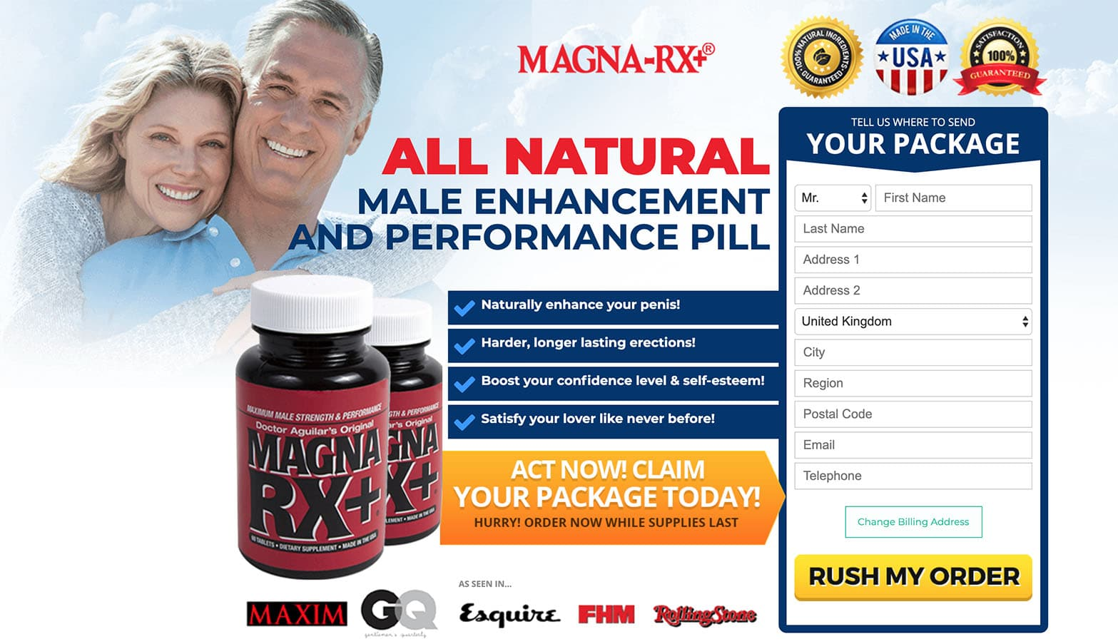 MagnaRX+ UK Website