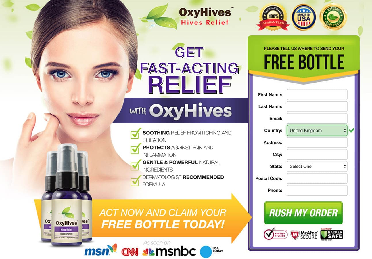 oxyhives website uk & ireland