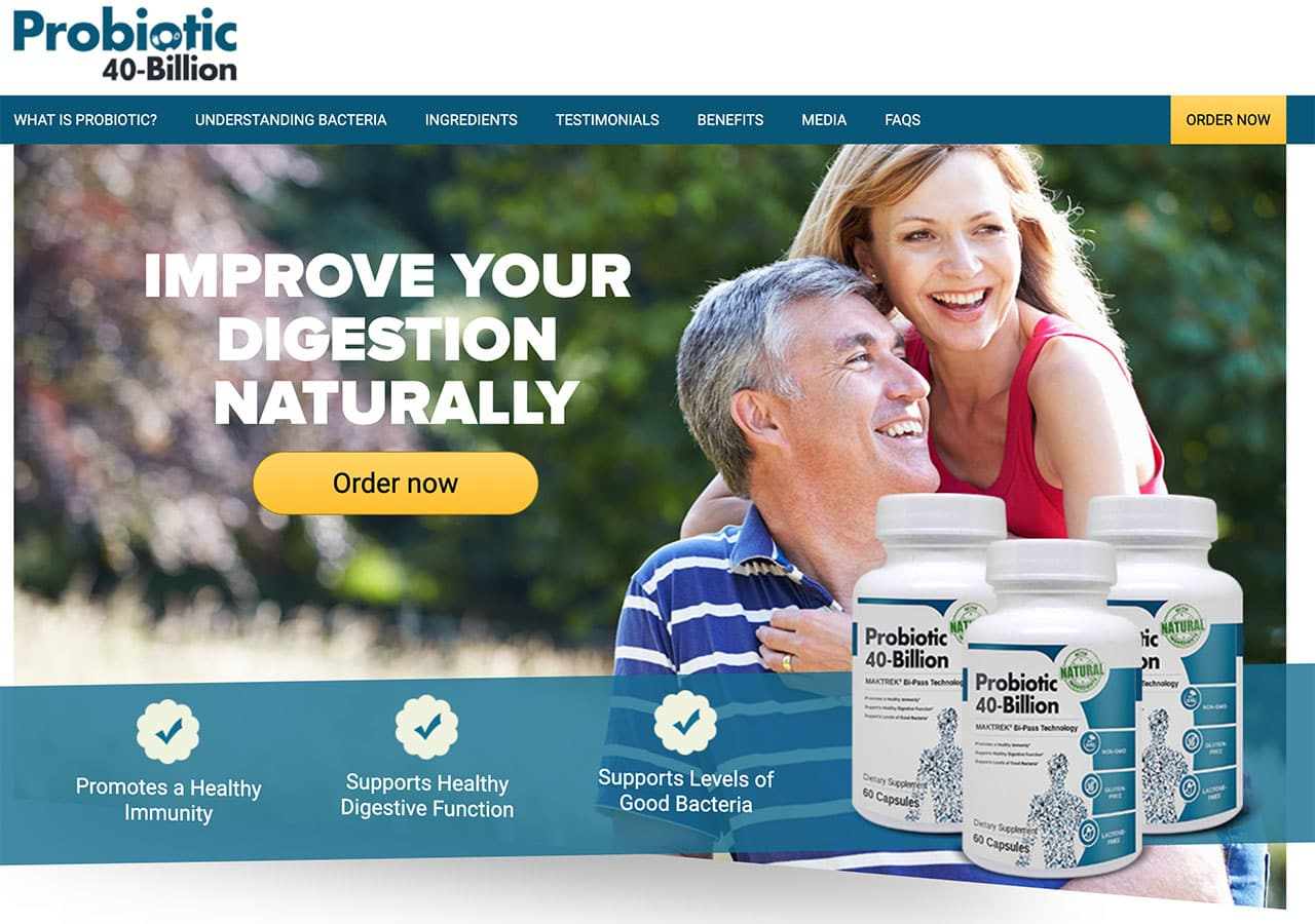 probiotic 40 billion website