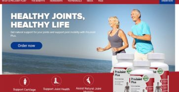 ProJoint Plus UK Website