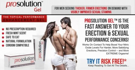 ProSolution Gel UK Website