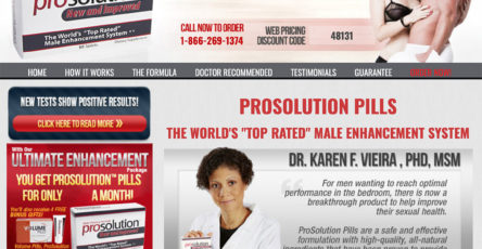 ProSolution™ Pills UK, Ireland Website
