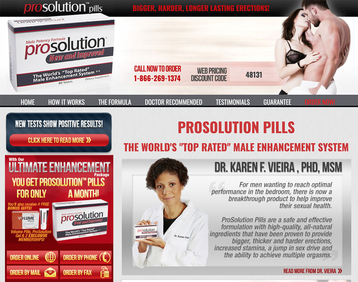 ProSolution™ Pills UK, Ireland Website