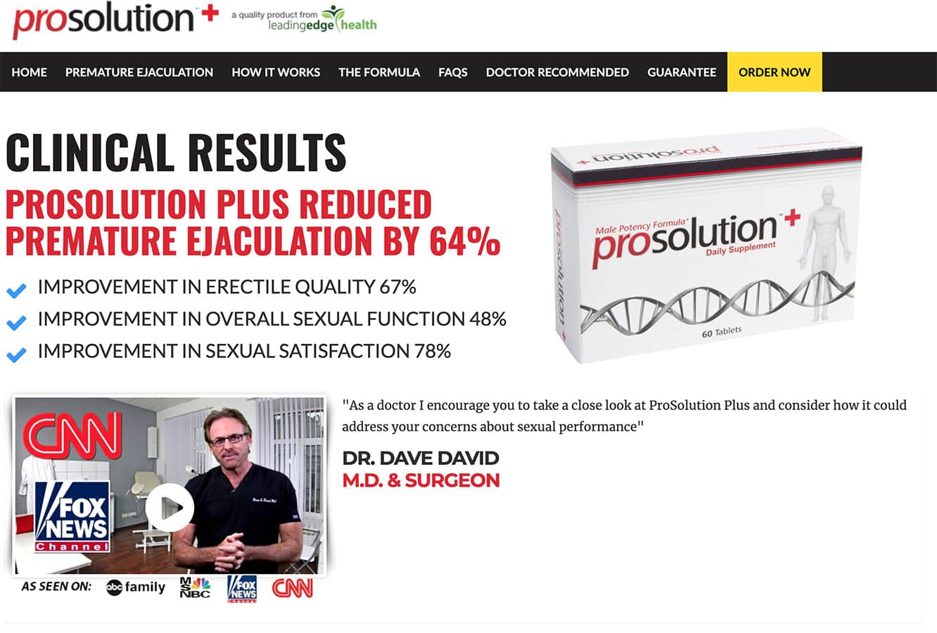 Prosolution Plus Male Enhancement Pills Supplements Uk
