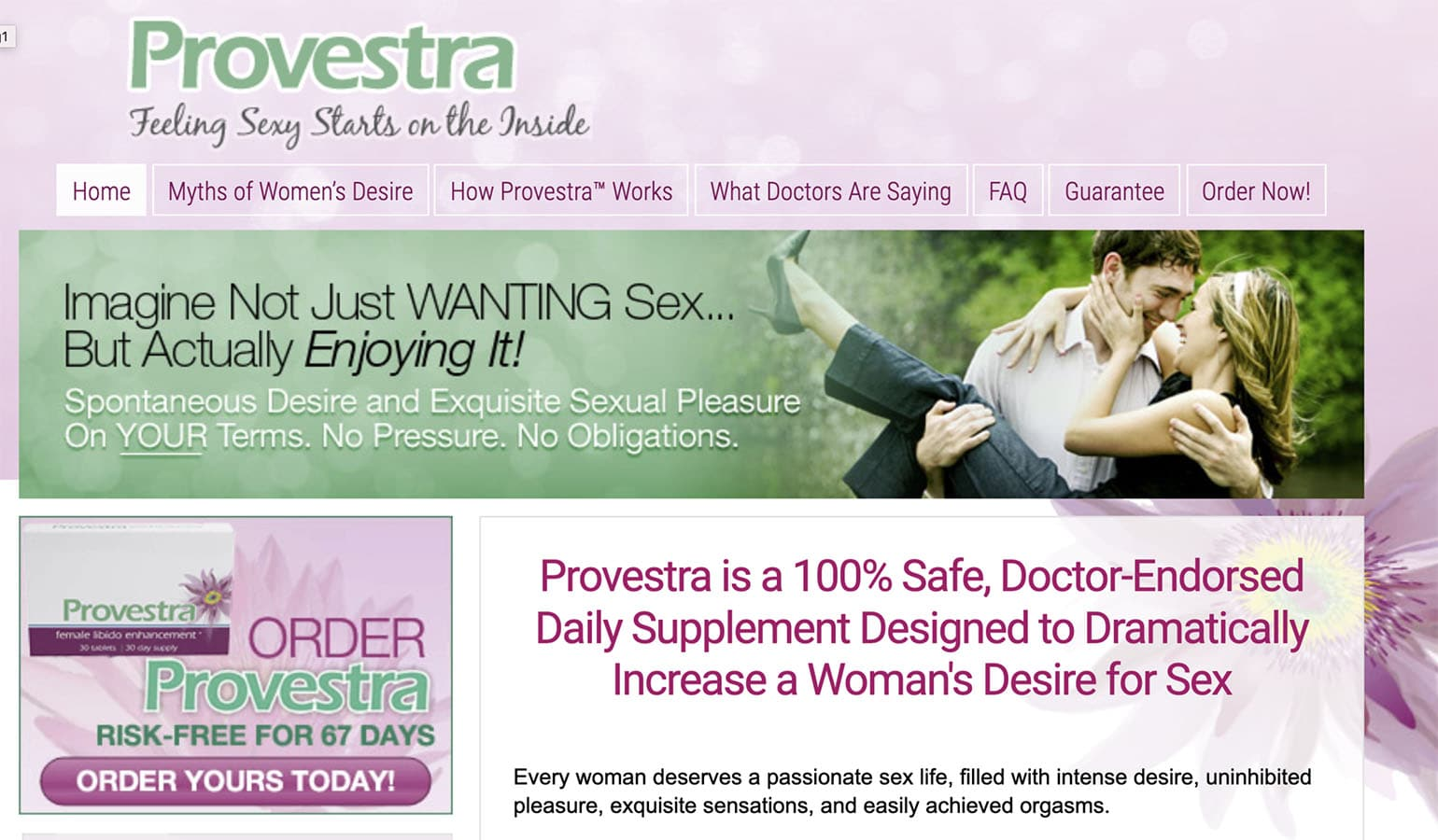 provestra uk, ireland website