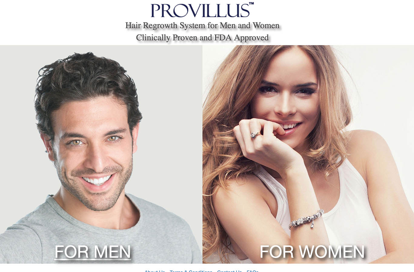 provillus uk ireland website