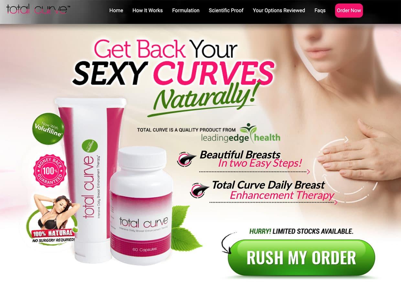 total curve ul website