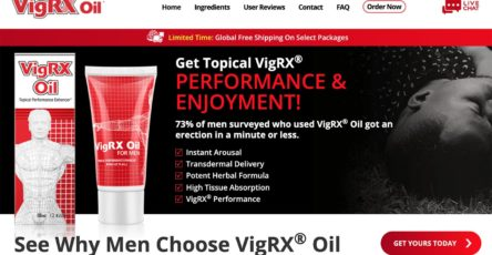 VigRX Oil UK Website