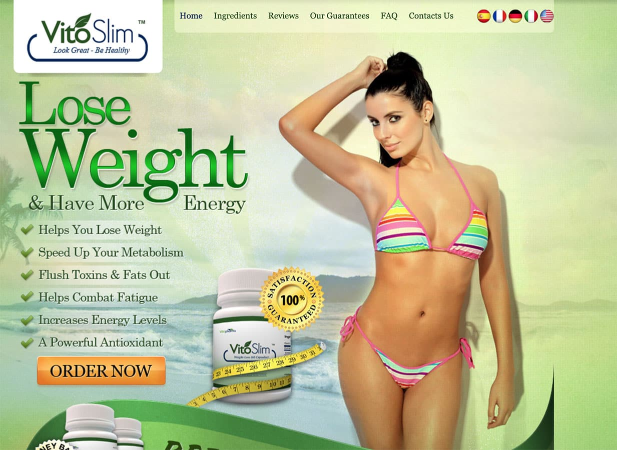 VitoSlim Website
