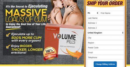 Volume Pills UK Website